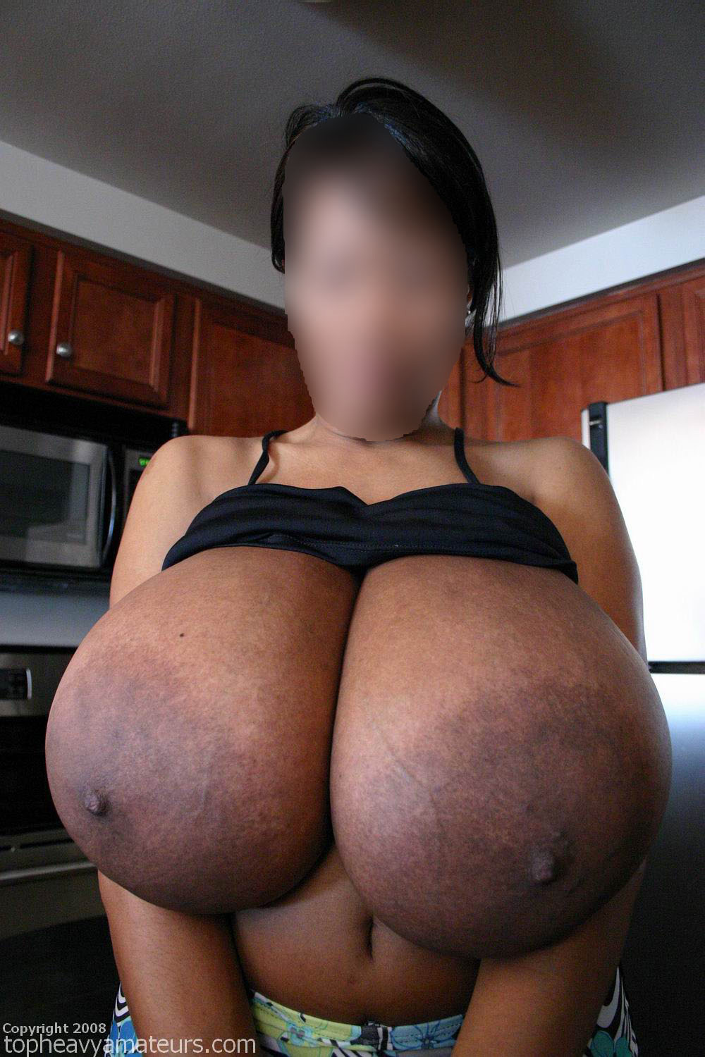 image Black bbw with huge tits gets gang banged